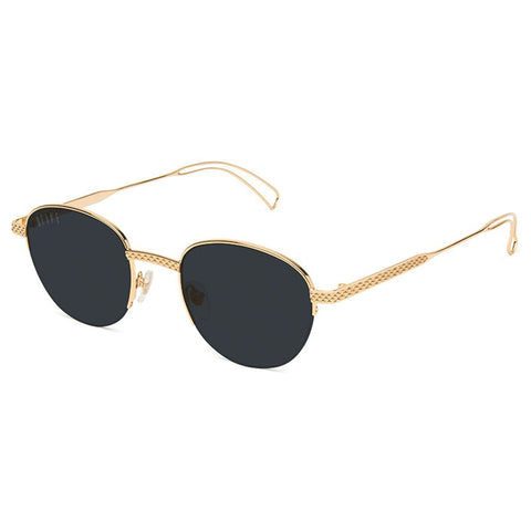 9Five Dime 24K Gold Sunglasses