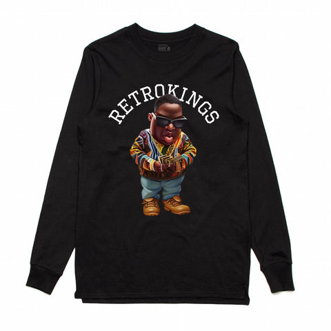 Retro Kings Biggie Black L/S Tee