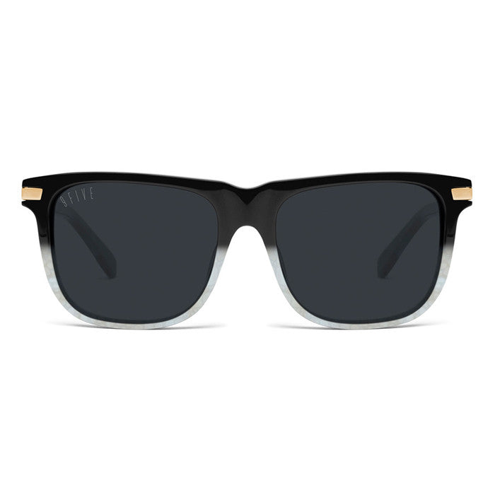 9Five Atlas Marble 24K Gold Sunglasses