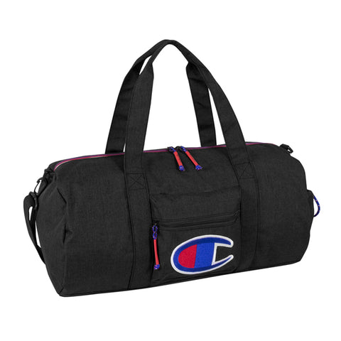 Champion Supersize Black Duffel