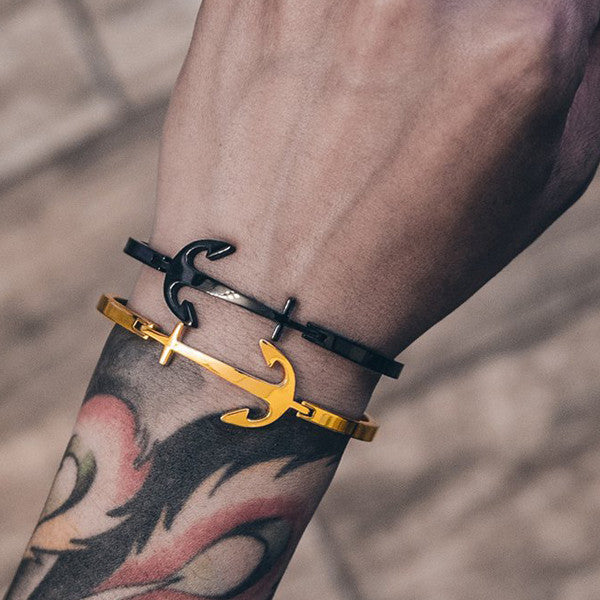 Mister Anchor Gold Bracelet
