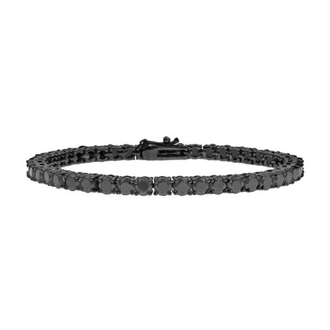 Mister Crystal All Black Bracelet