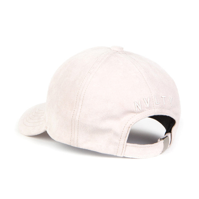 NVLTY Pink Suede Hat