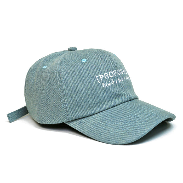Profound Co. Denim Weekend Hat