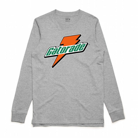 Retro Kings Gatorade Grey L/S Tee