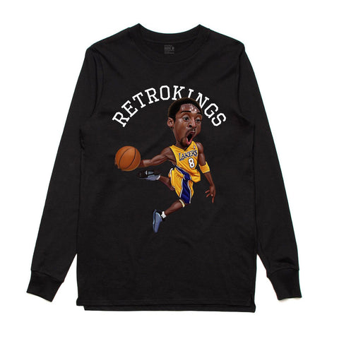 Retro Kings Space Jam Grey L/S Tee