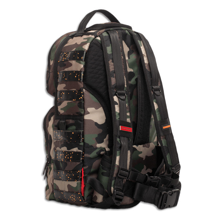 Sprayground Camo LED Backpack