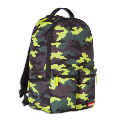 Sprayground White Fire Money Backpack
