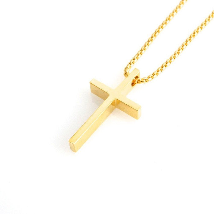 Veritas Cross Necklace