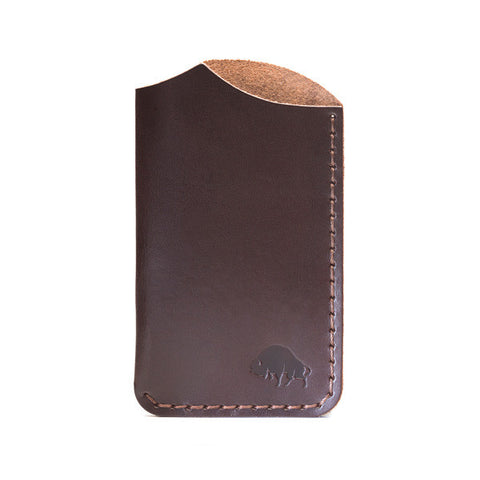 Bison Made No. 1 Brown Wallet