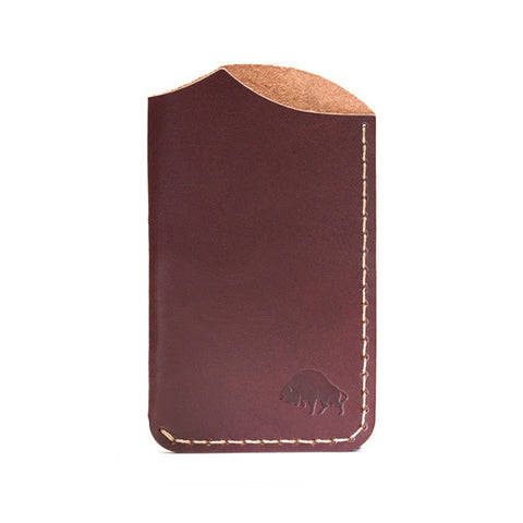 Bison Made No. 1 Burgundy Wallet