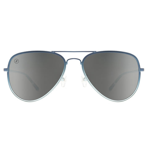 9Five 50-50 Gunmetal Flip Up Sunglasses