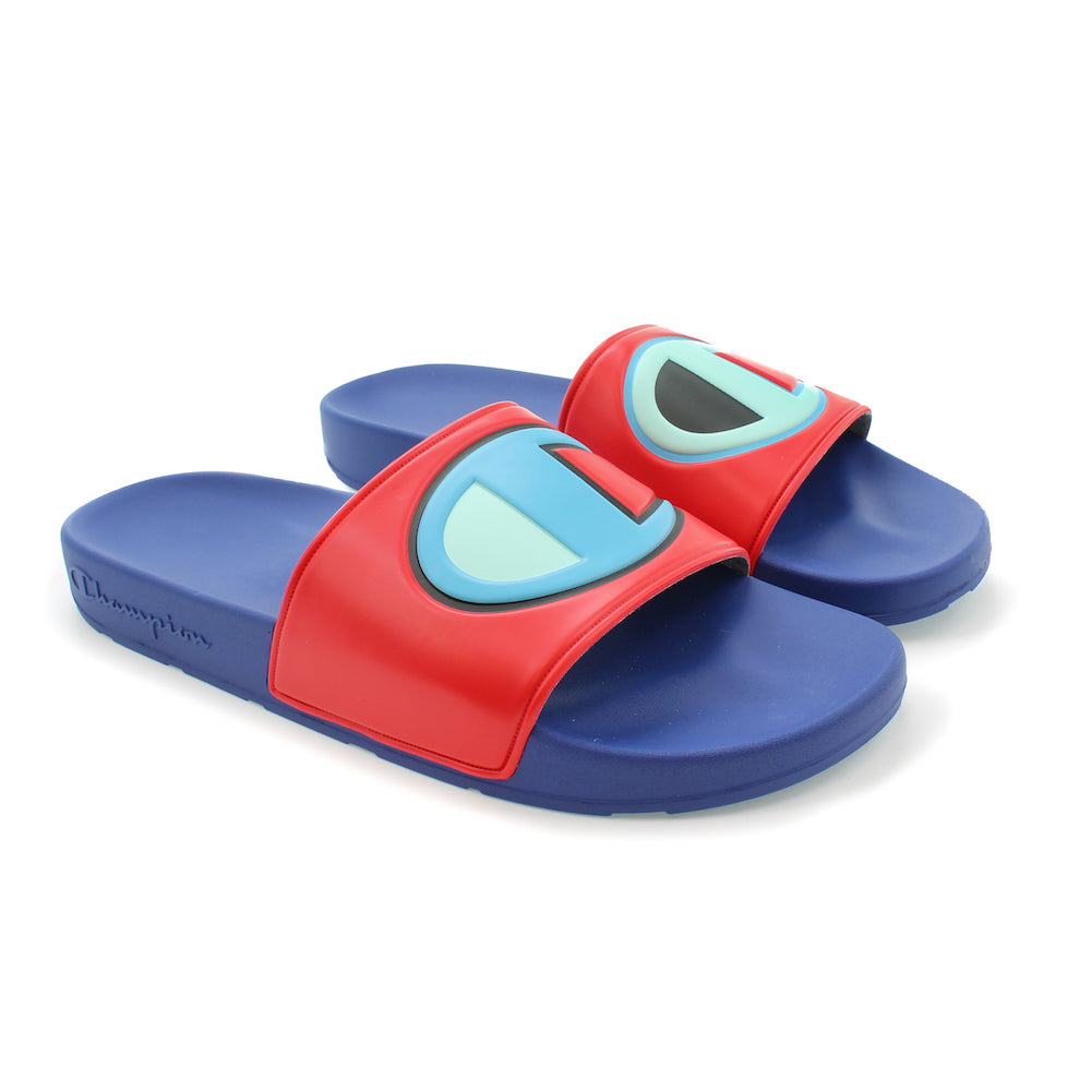 Champion IPO Red & Royal Slides