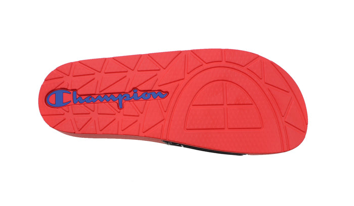Champion IPO Repeat Red & Navy Slides