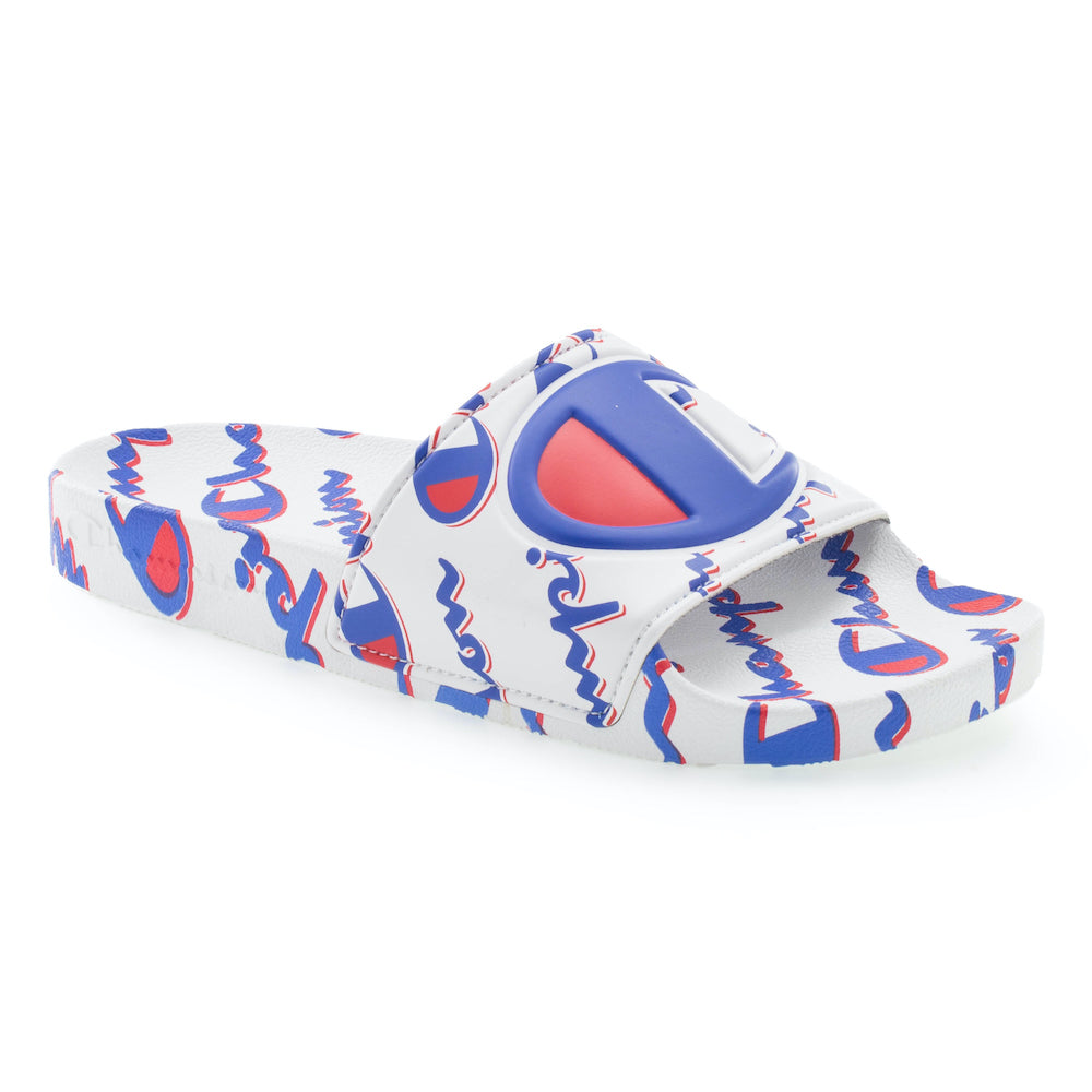 Champion IPO Mega Script White Slides