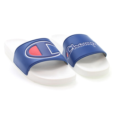 Champion IPO Royal & White Slides