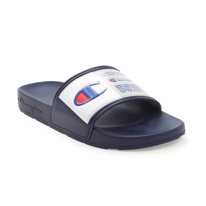 Champion IPO Jock Navy Slides