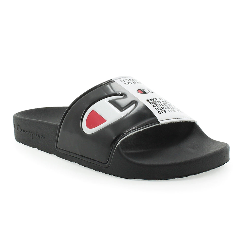 Champion IPO Split Jock Black Slides