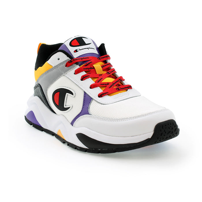 Champion 93 Eighteen Multi White Shoes