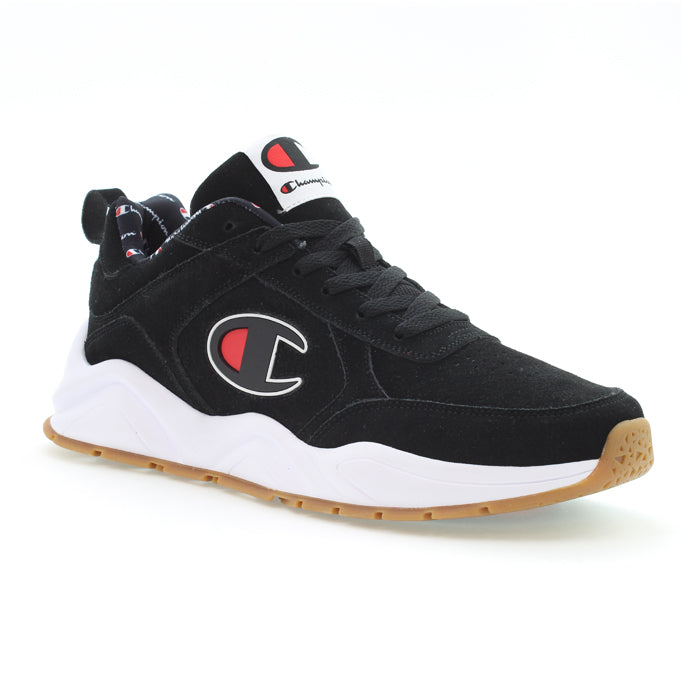 Champion 93 Eighteen Black Shoes