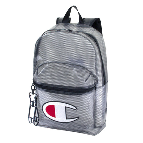 Champion Script Clear Black Sling Bag