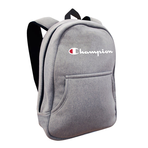 Champion Reverse Weave Hoodie Grey Backpack