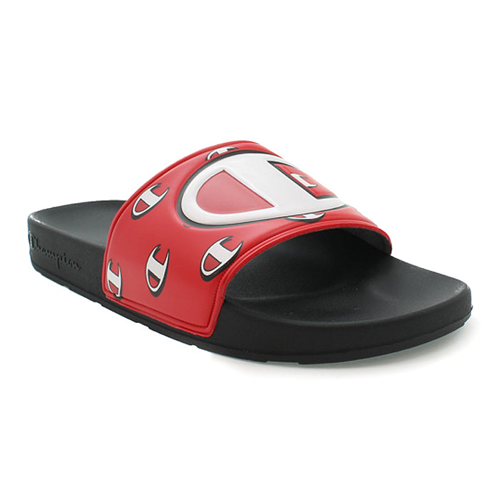 c2a86b42904e Champion IPO Repeat Black   Red Slides – Beyond Hype