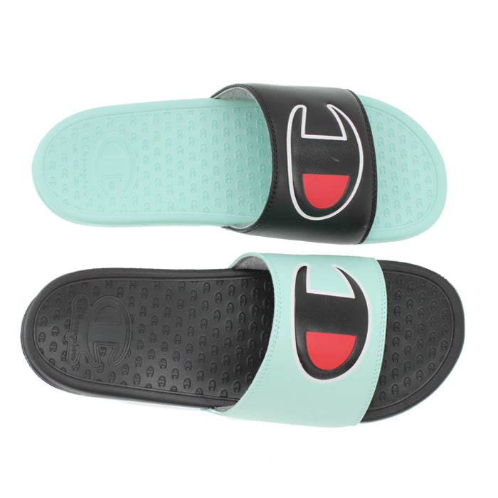 Champion Superslide Black & Waterfall Green Slides
