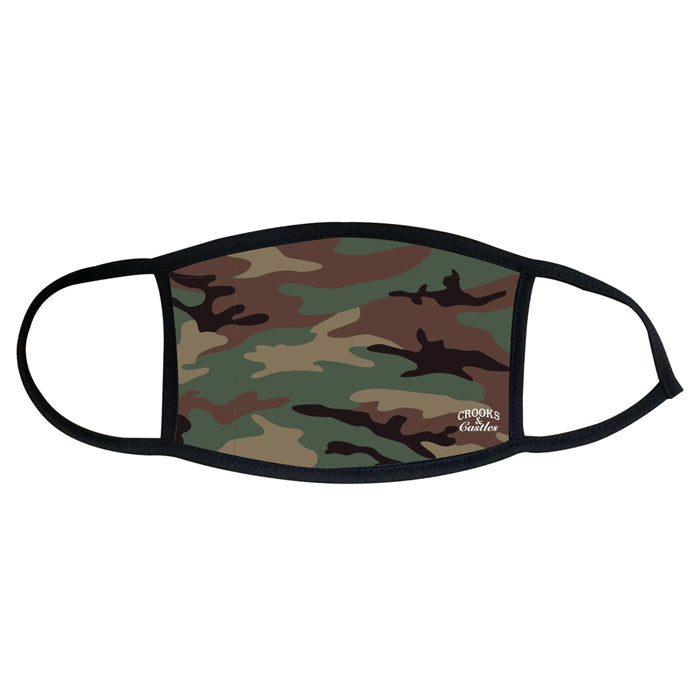 Crooks & Castles Reversible Camo Face Mask