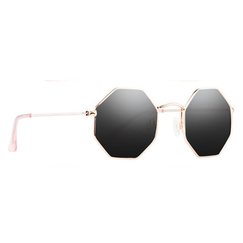 9Five Lane 24K Gold Flip Up Sunglasses