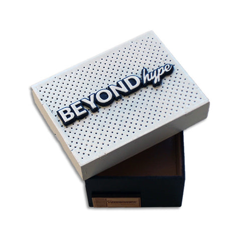 White Lid Sneaker Jewelry Box
