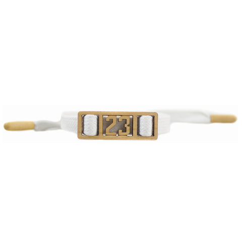 Goodwood 23 White Luxe Lace Bracelet