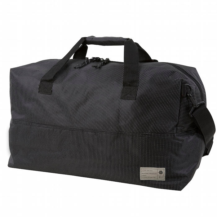 Hex Black Dot Aspect Duffel