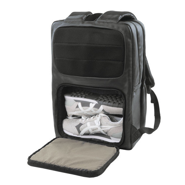 Hex Calibre Black Sneaker Backpack