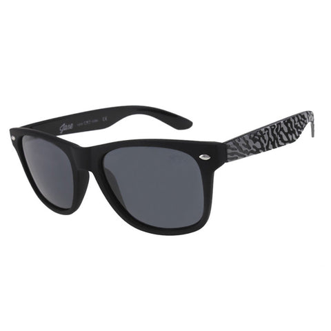 Jase Stark Black Sunglasses