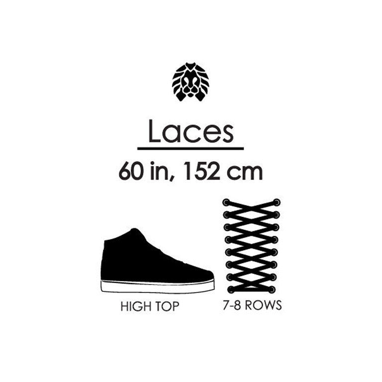 Rastaclat Pious Yucca Oval Shoelaces