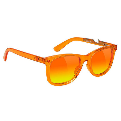Glassy x Jarritos Mandarin Bottle Opener Sunglasses