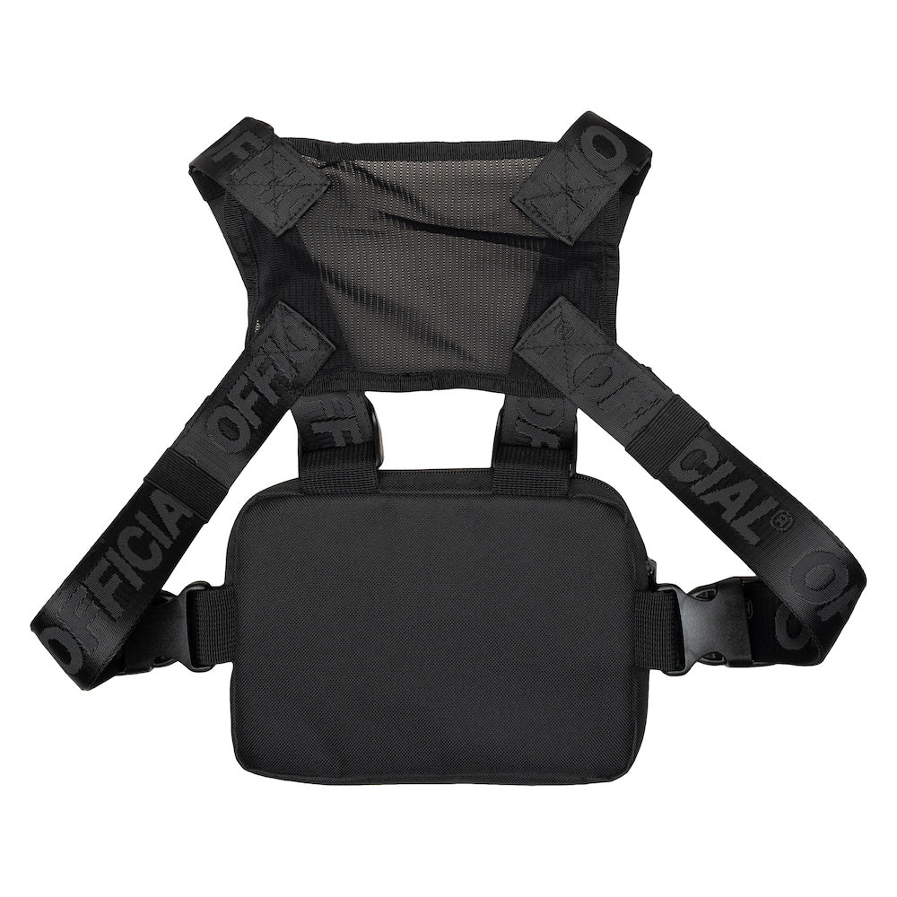 Official Mini Molle Black Chest Utility Bag
