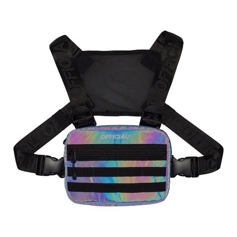 Official Mini Squid Ink Reflective Chest Utility Bag