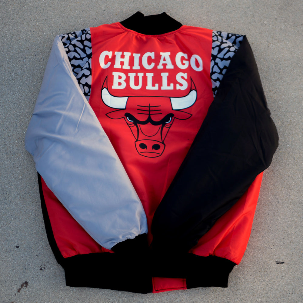 Nostalgic Club Chicago Bulls Red Jacket