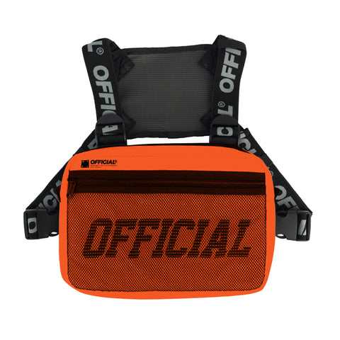 Official Melrose Orange Chest Utility Bag