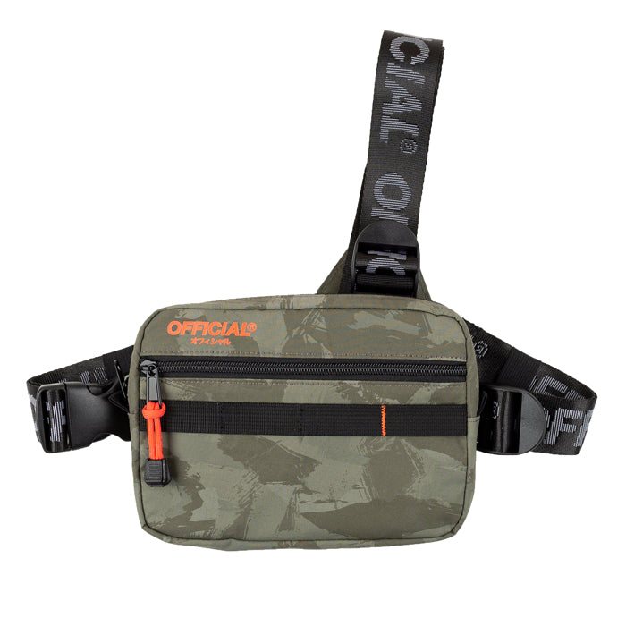 Official Brush Camo Tri Strap Chest Bag