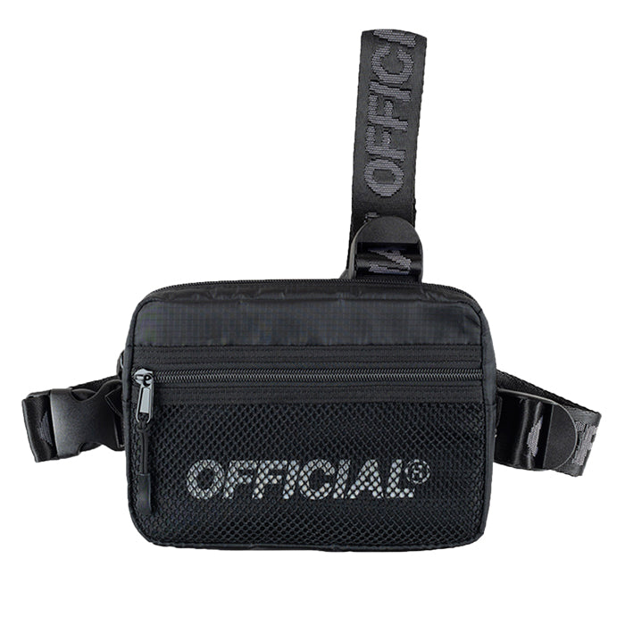 Official Black 2.0 Tri Strap Chest Bag