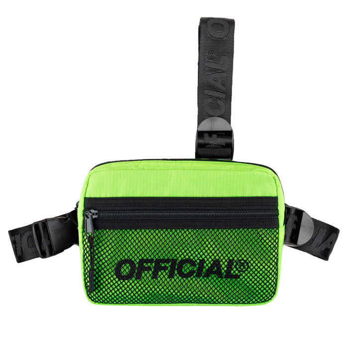 Official Neon Yellow 2.0 Tri Strap Chest Bag