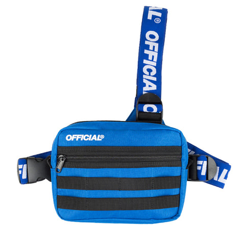 Official Piste Blue Tri Strap Bag