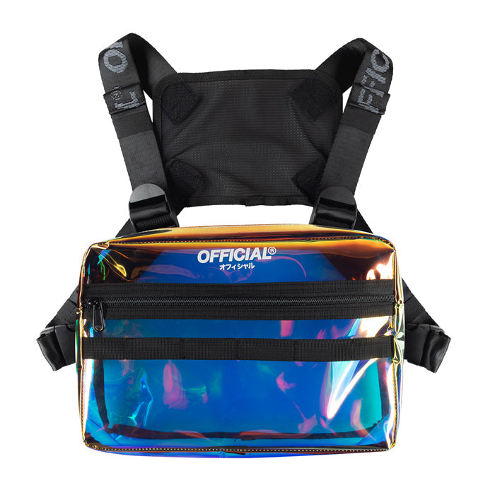 Official Translucent Iridescent Chest Utility Bag