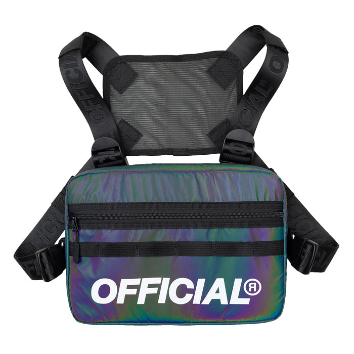 Official Squid Ink Reflective Chest Utility Bag