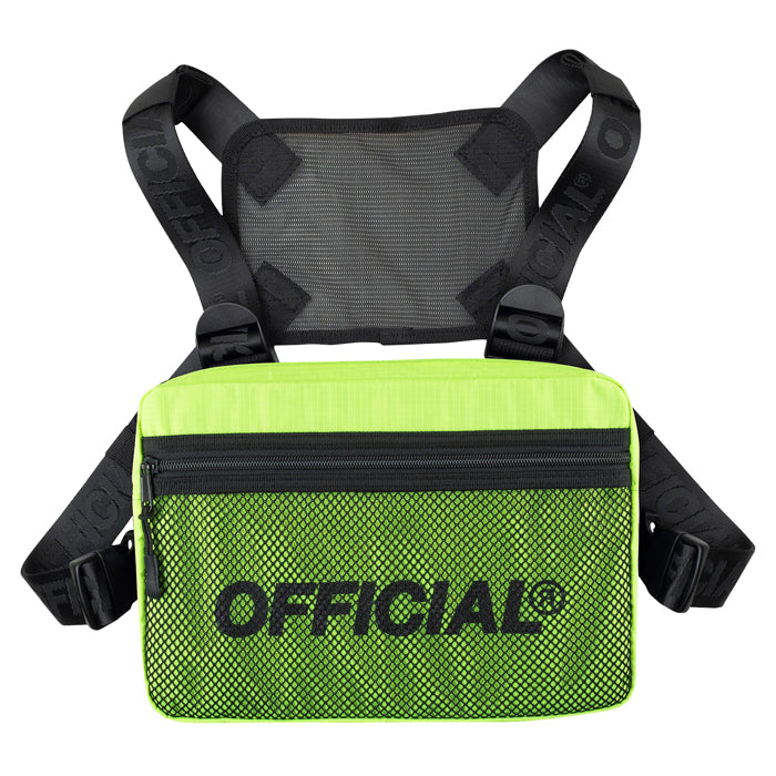 Official Neon Yellow 2.0 Chest Utility Bag