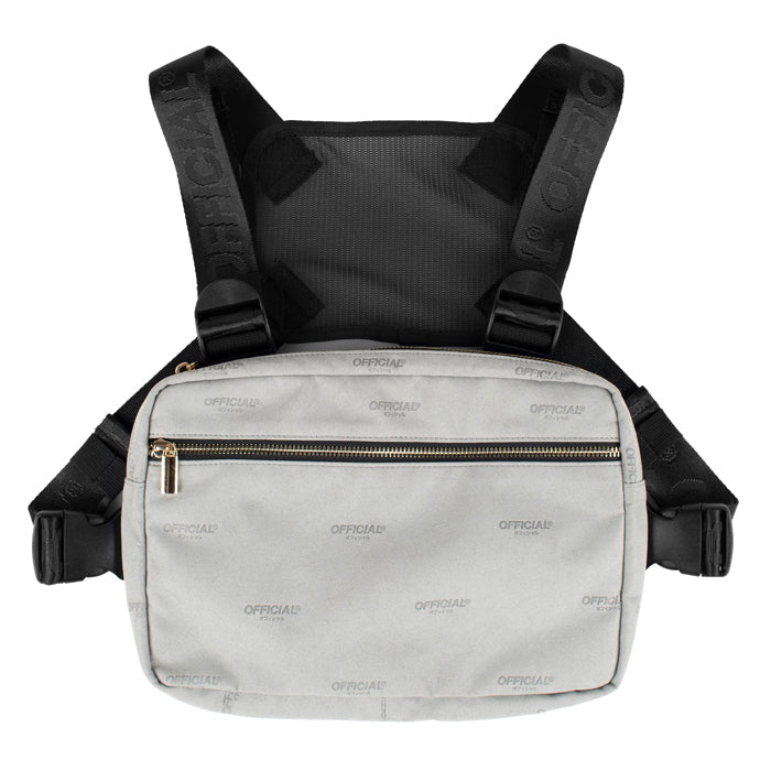 Official Milano Luxe Grey Chest Utility Bag