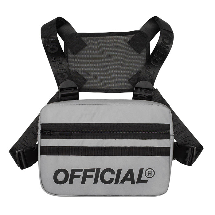 Official Silver Reflective Chest Utility Bag
